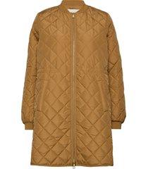 york jacket doorgestikte jas bruin modström