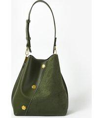 bolso verde amphora emiliana