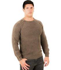 blusa officina do tricô monte negro marrom