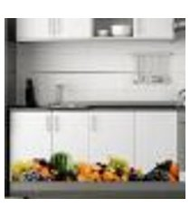adesivo decorativo para armário frutas 2 - extra grande