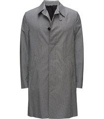 m. carcoat wollen jas lange jas grijs filippa k