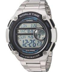 reloj casio juvenil digital hombre ae-3000wd-1a