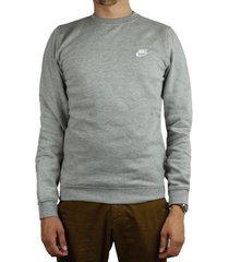 sweater nike nsw fleece club crew 804340-063