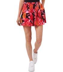 riley & rae amber sun tropical-print shorts, created for macy's