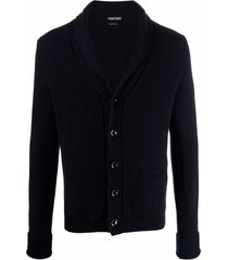 tom ford shawl-collar cashmere cardigan