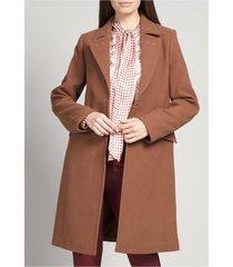 abrigo mujer muflon café rock liola