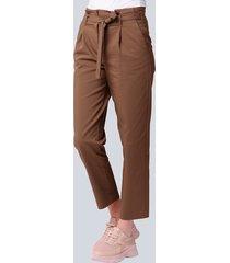 broek alba moda bruin