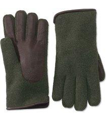 lambswool knit glove