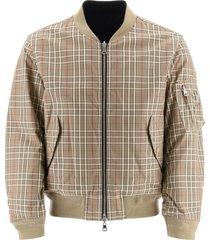burberry brookland reversible bomber jacket
