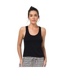 blusa regata viscolycra feminino - toque sleepwear