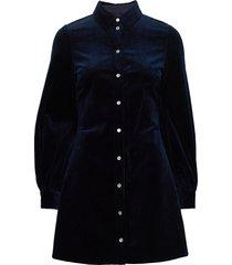 moonst dress 12864 knälång klänning blå samsøe samsøe