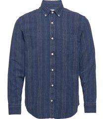 levon shirt 5139 skjorta casual blå nn07