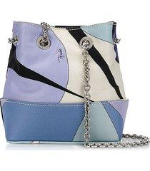 emilio pucci designer handbags, alex print bonita mini bucket bag