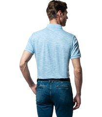 koszulka polo carlise błękit