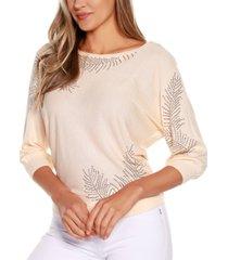 belldini black label dolman sleeve pullover sweater