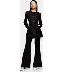 *black wrap blazer by topshop boutique - black