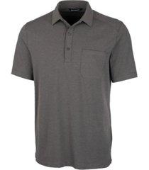 cutter & buck men's big and tall advantage jersey polo t-shirt