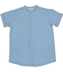 camisa cuello neru lavado medio