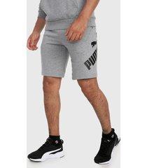 pantaloneta gris-negro puma