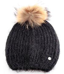 cappello liu jo paillettes 369003 m0300 nero