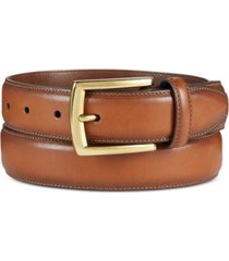 club room men's feather-edge belt, created for macy's