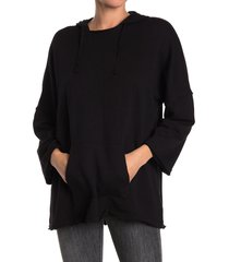 women's caslon easy terry hoodie, size x-large