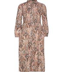 anna dress knälång klänning rosa odd molly