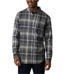 columbia men's big and tall rapid rivers ii checked long-sleeve shirt