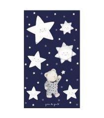 adesivos parede ursinho nas estrelas marinho gráo de gente azul