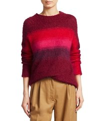holland ombré pullover sweater