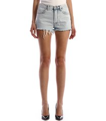 cotton shorts light blue
