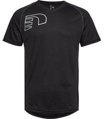 core coolskin tee t-shirts short-sleeved svart newline