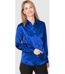 blouse mona royal blue