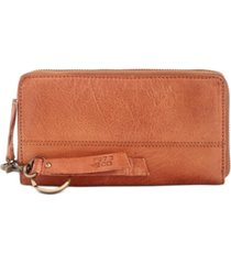 frye and co. jolie leather zip wallet