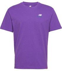 mt11592 t-shirts short-sleeved lila new balance