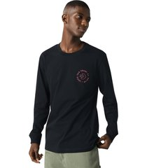 converse camiseta de manga larga renew life's short para hombre black