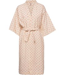 dot liberte kimono ochtendjas roze becksöndergaard