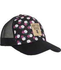 gorra lucy negro para mujer croydon