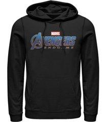 marvel men's avengers endgame logo, pullover hoodie