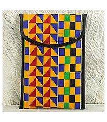 kente ipad case, 'royal pattern' (ghana)