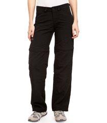 pantalon negro montagne sabbana base desmontable