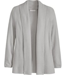 women's ribbed long sleeve cardigan