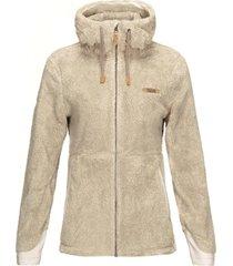 chaqueta bear shaggy-pro hoody jacket crudo lippi