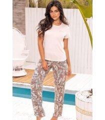 pijama mujer conjunto pantalón 11369