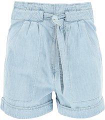 isabel marant étoile denim shorts