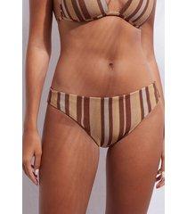 calzedonia bottom swimsuit dubai woman brown size 5