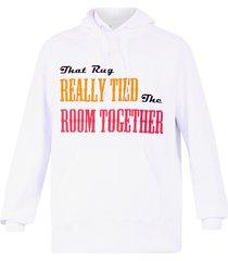sacai printed hoodie