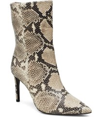 booties 3362 shoes boots ankle boots ankle boots with heel beige billi bi