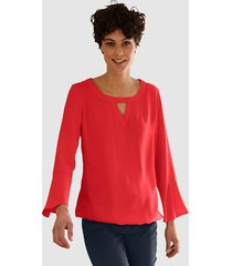 blouse dress in rood