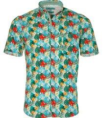 colours & sons overhemd - slim fit - groen